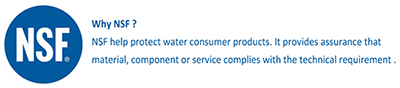 NSF ANSI 58 πιστοποίηση φίλτρων νερού