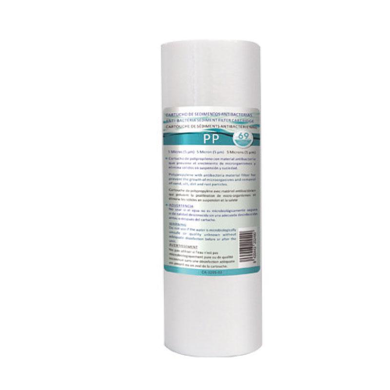 """Αντιβακτηριακό Φίλτρο Πολυπροπυλενίου HPP-A 10"""" 5μm"""