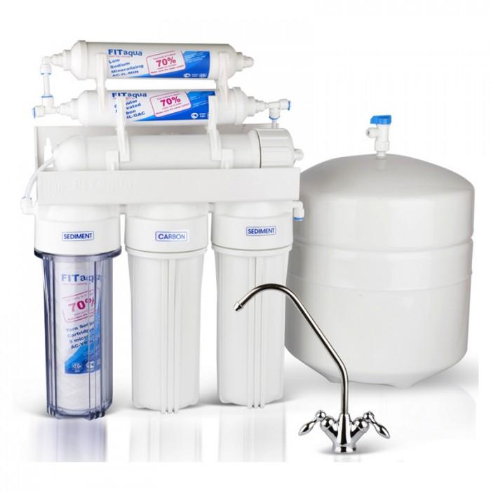 Αντίστροφη Όσμωση RO-6 Σταδίων Fit Aqua