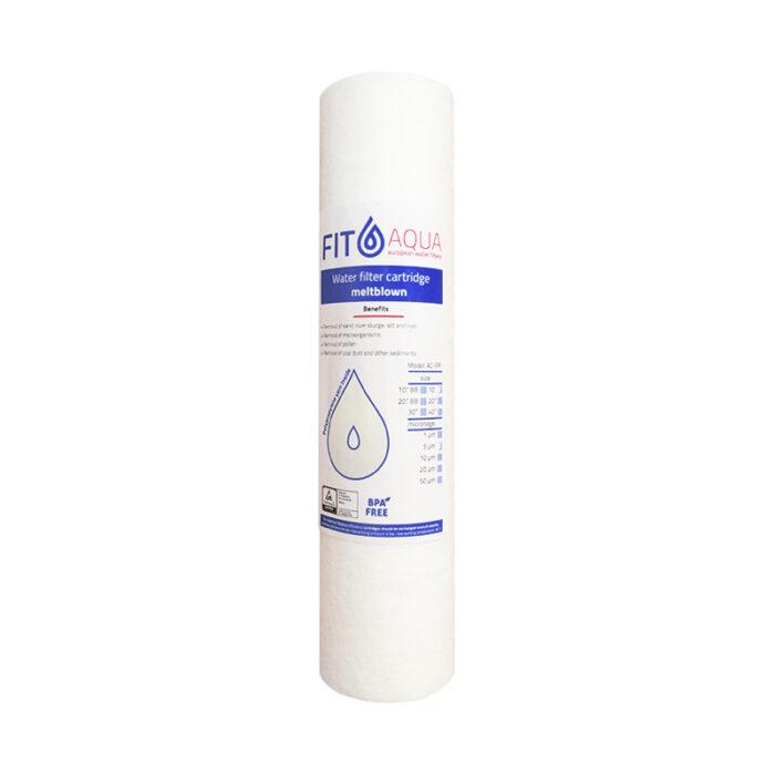 """Ανταλλακτικό Φίλτρο Πολυπροπυλενίου PP-10"""" 5μm FitAqua"""