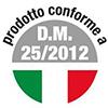 DM-25/2012 πιστοποιηση φιλτρου