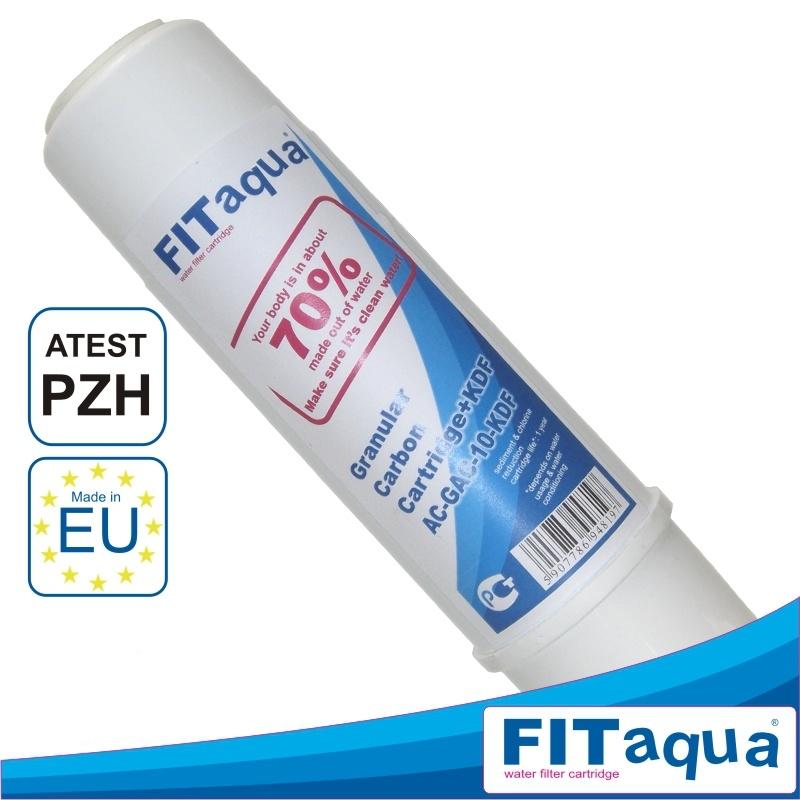"""Φίλτρο Κοκκώδους Ενεργού Άνθρακα GAC FITAqua 10"""" EU"""