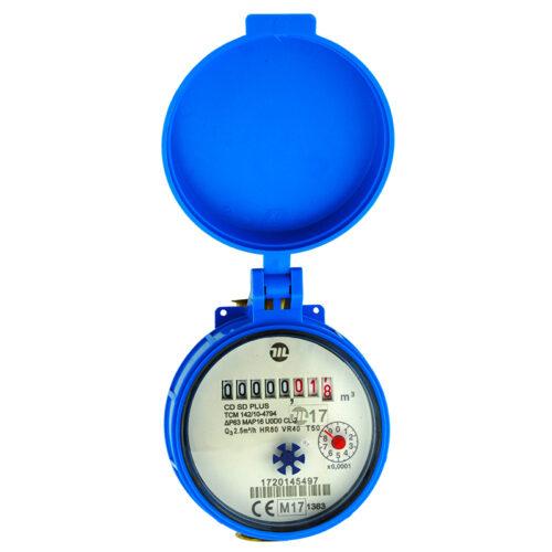 """Υδρόμετρο 1/2"""" ξηρού τύπου MADDALENA CDSD"""