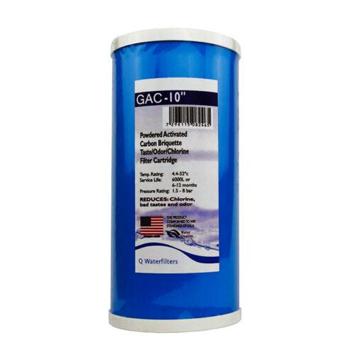 """Ανταλλακτικό Φίλτρο Κοκκώδους Ενεργού Άνθρακα Big-Blue GAC-10"""""""