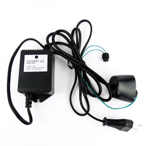 Μετασχηματιστής UV Λάμπας UVC-6W Ballast
