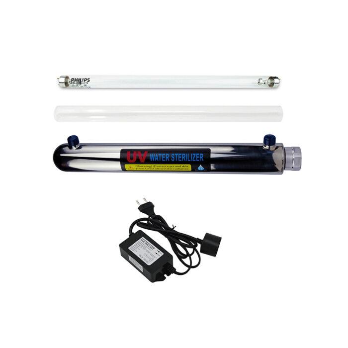 Σύστημα UV Λάμπας Υπεριώδους Ακτινοβολίας 25W