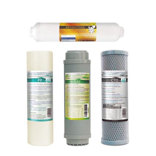 Αντιβακτηριακό Σετ 4 Φίλτρων Αντίστροφης Όσμωσης