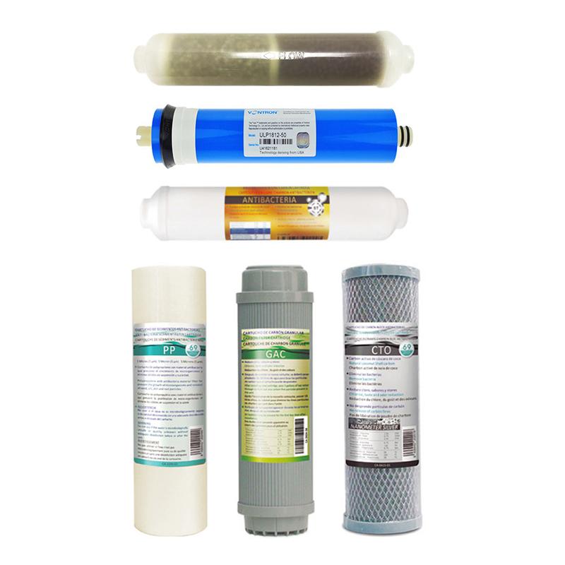Αντιβακτηριακό Σετ 6 Φίλτρων Αντίστροφης Όσμωσης