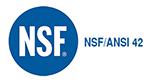 NSF ANSI 42 πιστοποίηση για φίλτρα νερού