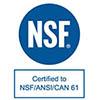 Πιστοποίηση για φίλτρα νερού NSF/ANSI/CAN 61
